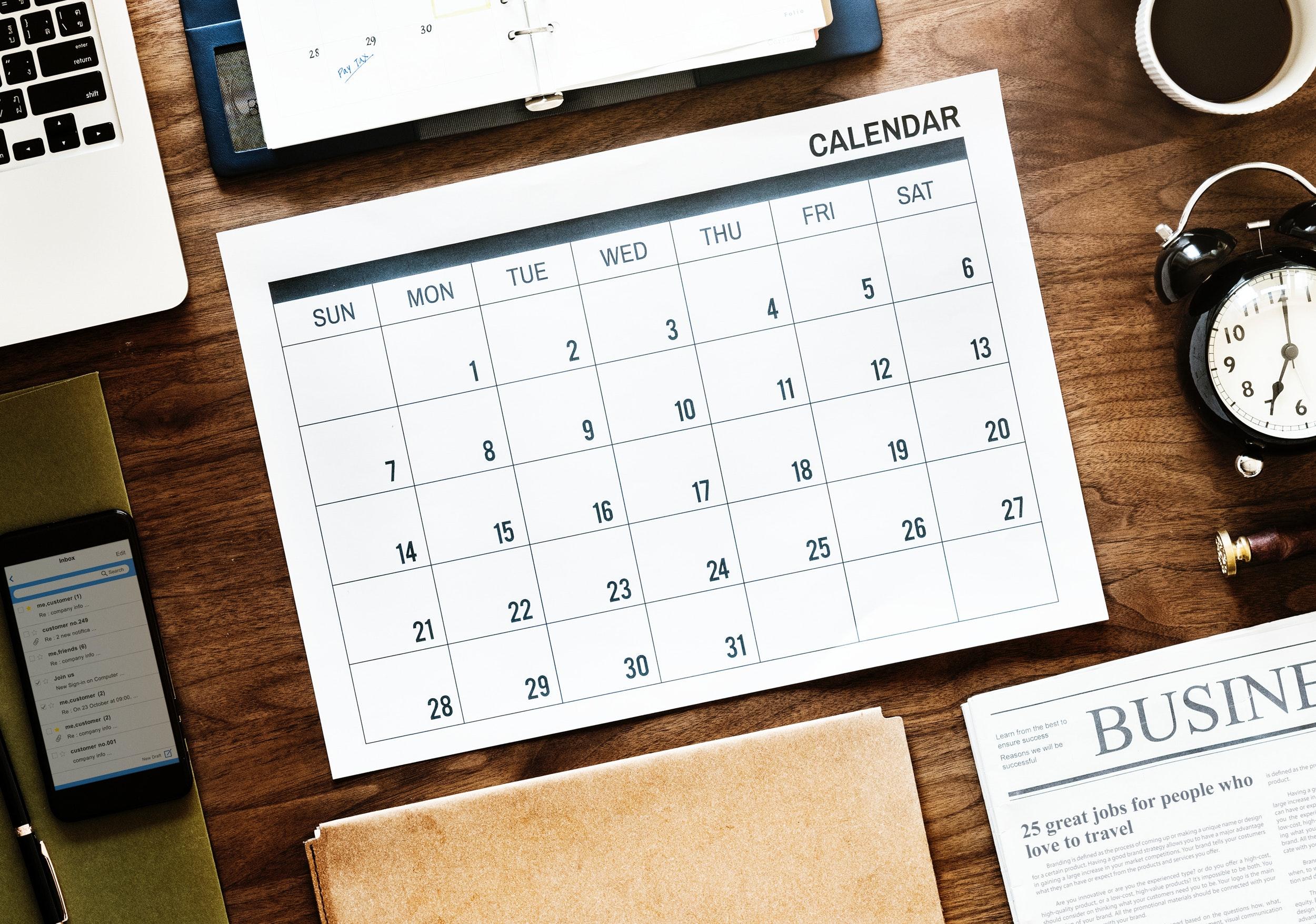 Перелік державних вихідних і святкових днів у 2019 році
